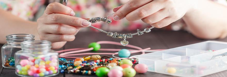 Fabrication des bijoux ethniques